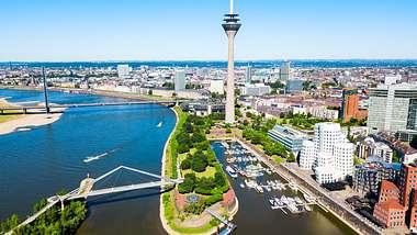 Düsseldorf –zwischen schick und cool - Foto: iStock / saiko3p