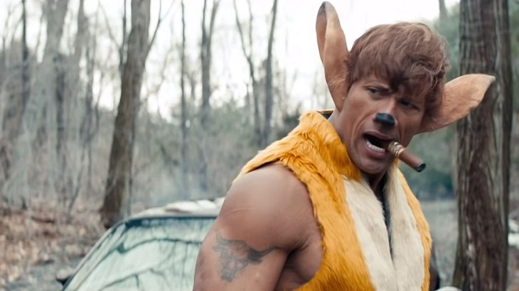 Dwayne Johnson als Bambi