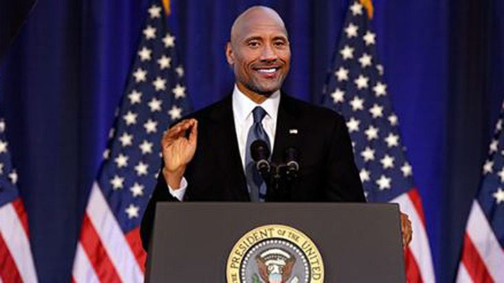 Kandidiert Dwayne The Rock Johnson 2020 als US-Präsident?
