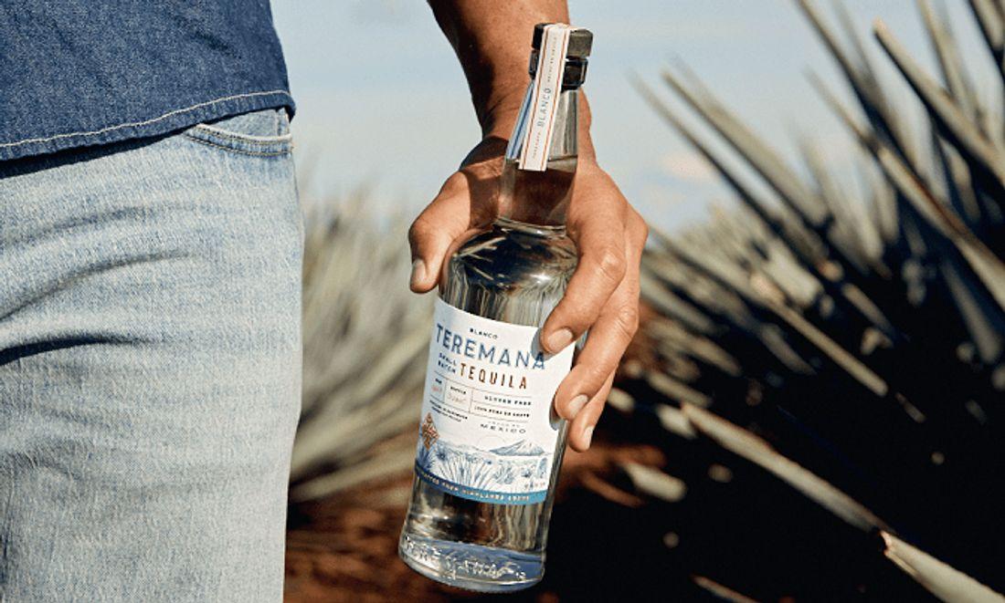 Flasche Teremana-Tequila