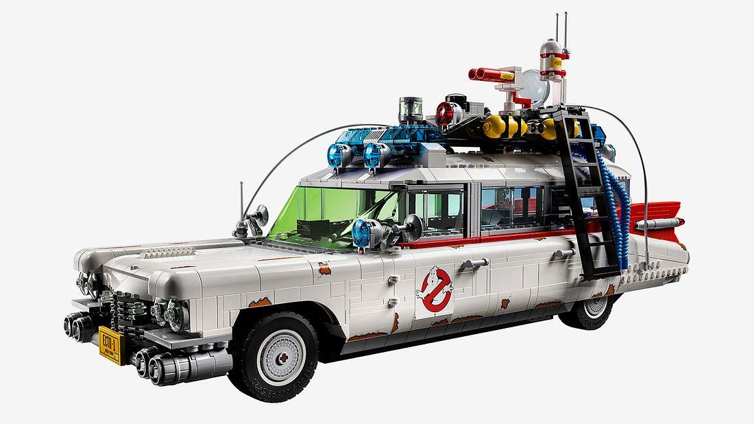 ECTO-1 aus Ghostbusters als Lego-Bausatz