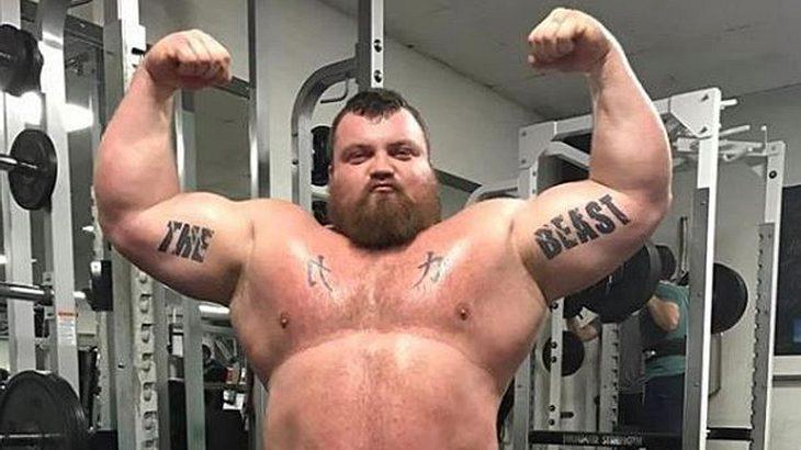 Eddie Hall ist der stärkste Mann der Welt