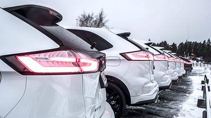 Ford Edge: Mit einer Allrad-Ikone durch Schnee und Eis - Foto: Ford
