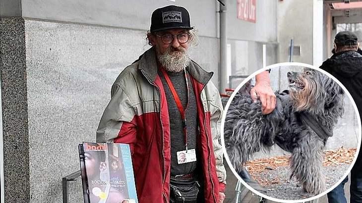 Obdachlosen Egon wird Hund vom Ordnungsamt weggenommen