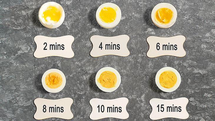 Ei in wasser kochen ohne schale