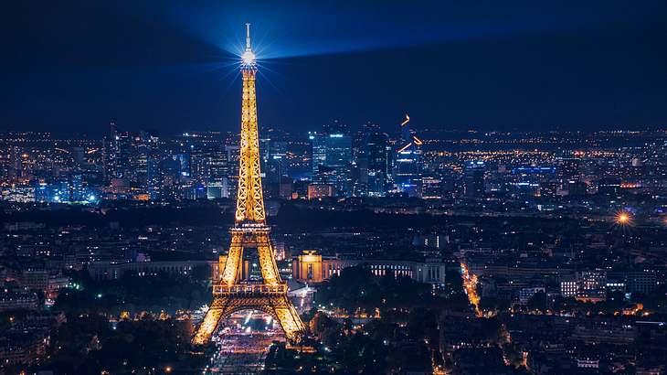 Warum es verboten ist, nachts den Eiffelturm zu fotografieren