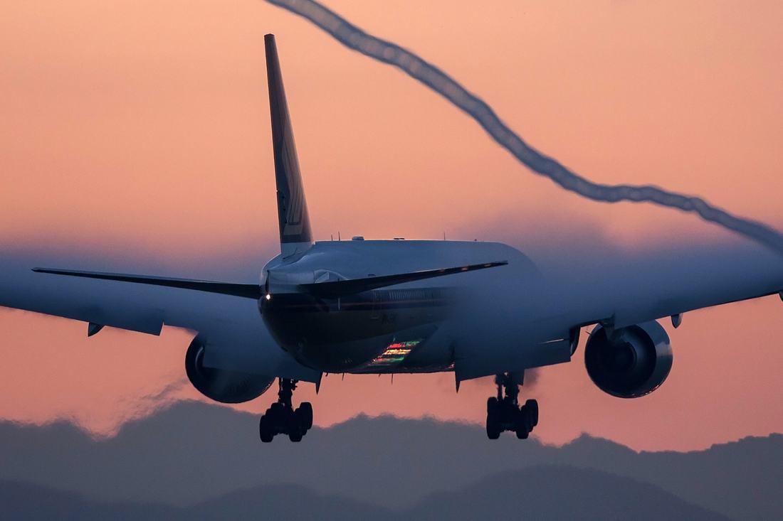 Eine Boeing 777