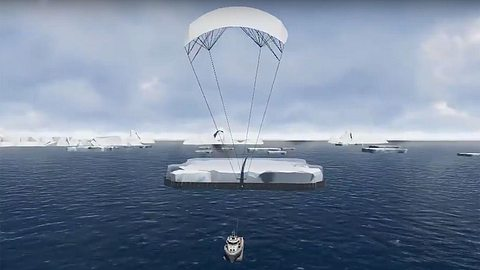 Arabische Milliardäre bestellen sich gigantischen Eisberg aus der Antarktis