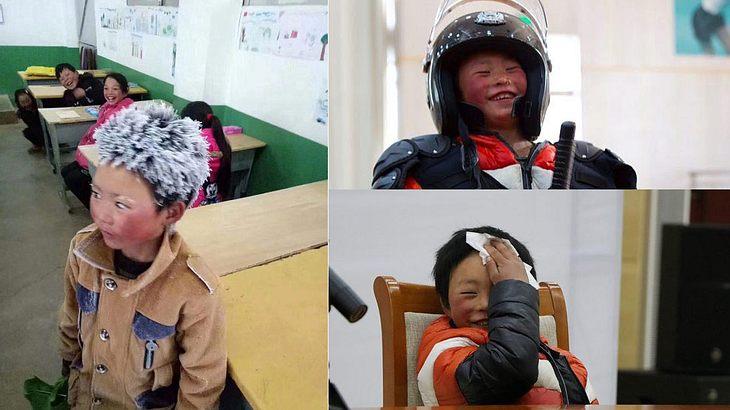 Wang Fuman in Peking