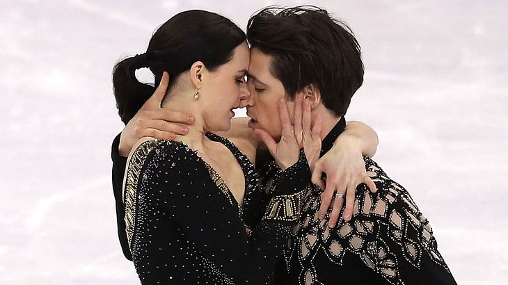 Scott Moir und Tesse Virtue