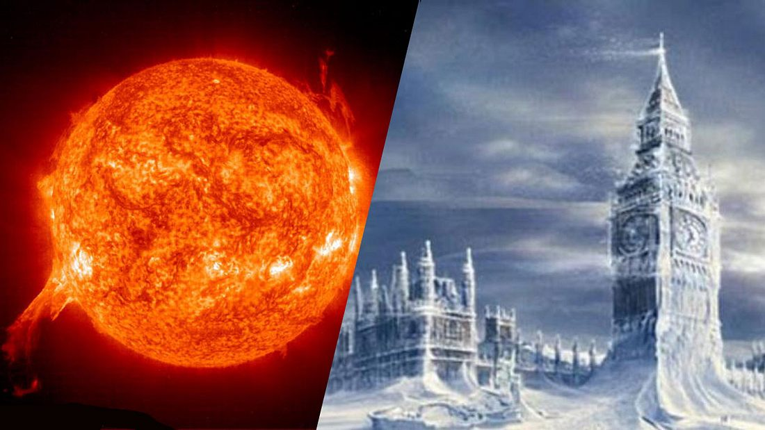 NASA-Bilder zeigen: Der Erde steht 2019 eine Eiszeit bevor!