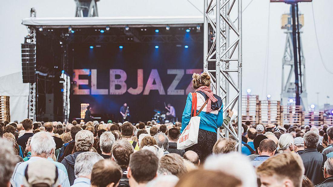Das Elbjazz-Festival in Hamburg.