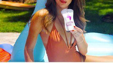 Electric Rosé die Promille-Carpi-Sonne für deine Freundin - Foto: Instagram/ Electric Wine