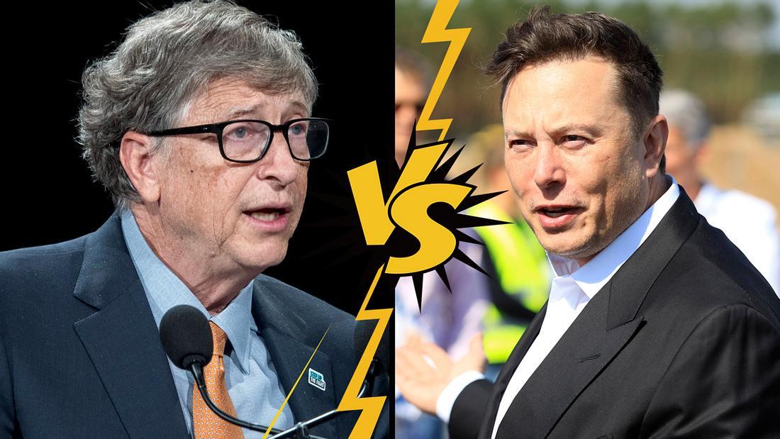 Elon Musk disst Bill Gates