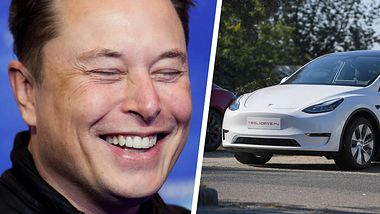 Elon Musk ist bekannt für seine augenzwinkernden Aktionen - Foto: Getty Images / HANNIBAL HANSCHKE;  ATTILA KISBENEDEK