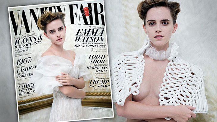 Esy Pics: Schauspielerin Emma Watson der aktuellen Ausgabe der Vanity Fair