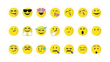 Eine Auswahl an Emojis - Foto: iStock / calvindexter