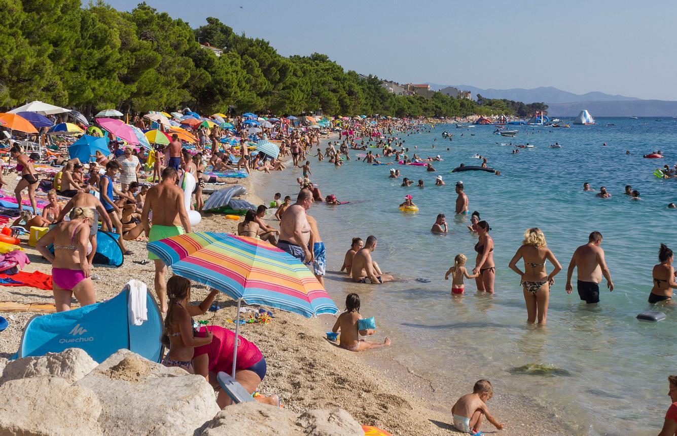 Strand in Kroatien