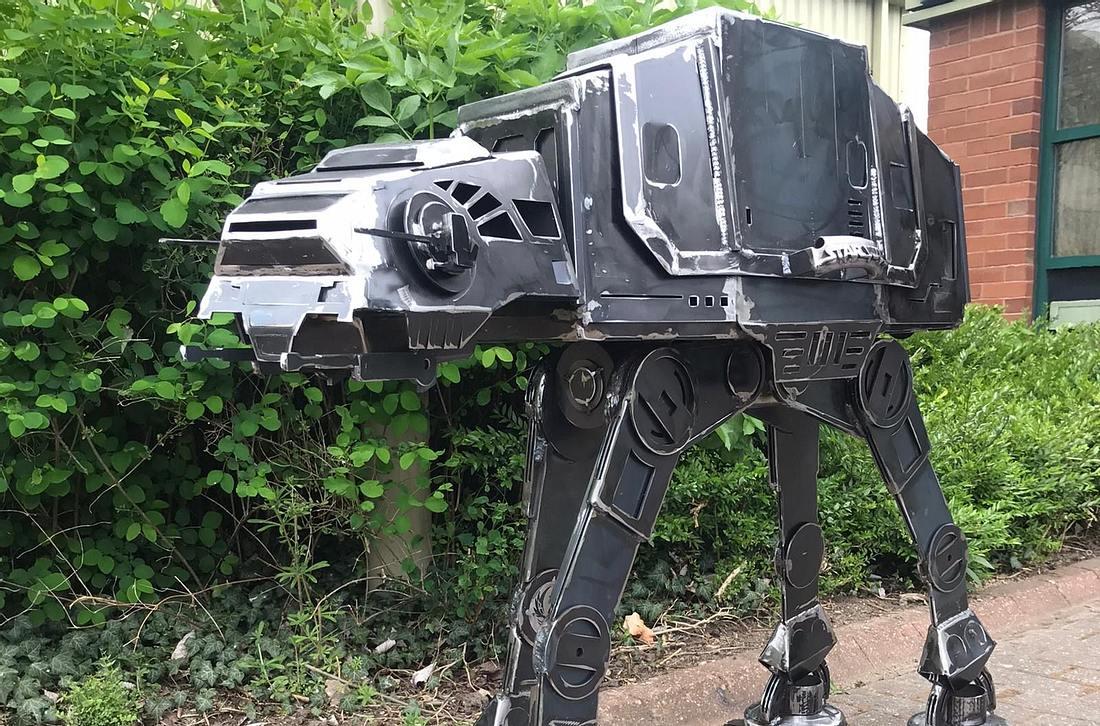 Epischer Star-Wars-Grill