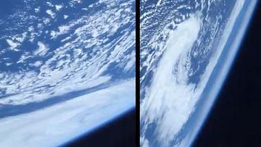 Erstaunter SpaceX-Astronaut filmt unfassbares Video unserer Erde