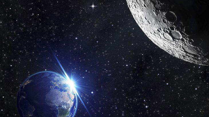UFO-Experten entdecken Alien-Versteck auf dem Mond