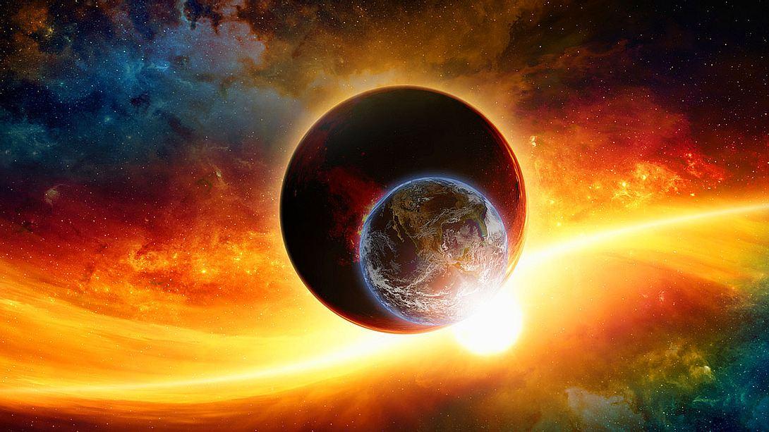 Erde und Theia - sahe es so aus? - Foto: iStock/ Ig0rZh