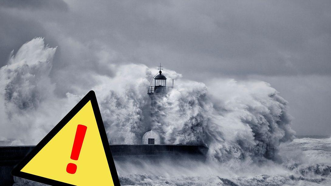 Orkan! Deutscher Wetterdienst ruft Alarmstufe Rot aus