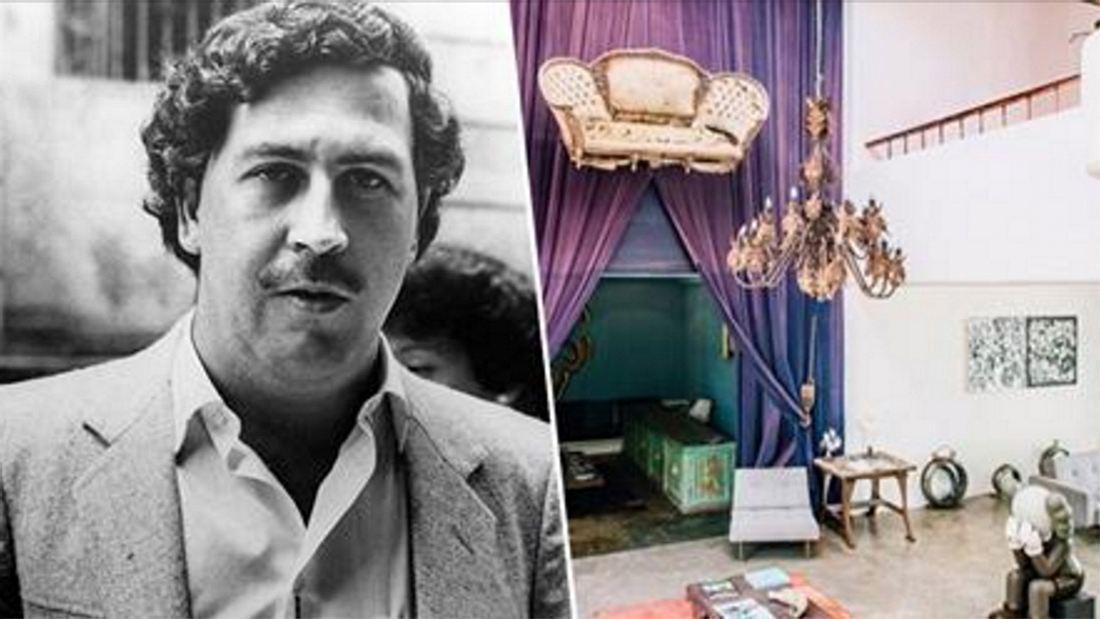 Eine der ehemaligen Villen des Betäubungsmittelpaten Pablo Escobar wurde zum Luxushotel umfunktioniert