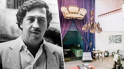 Eine der ehemaligen Villen des Betäubungsmittelpaten Pablo Escobar wurde zum Luxushotel umfunktioniert - Foto: Unilad