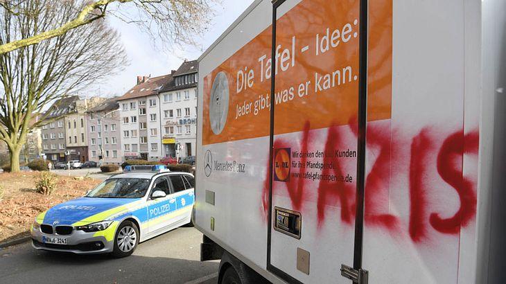 Trotz Kritik der Kanzlerin: Essener Tafel hält an Ausländer-Stopp fest