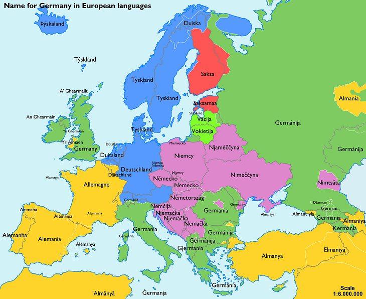 Deutschland in anderen europäischen Ländern