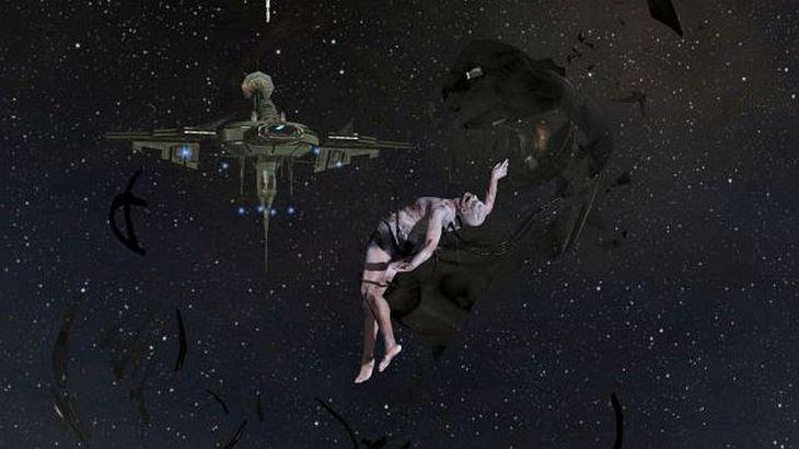 Eine Szene aus dem Internet-Game EVE Online