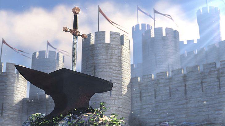 Das legendäre Schwert Excalibur
