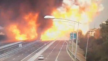 Die Druckwelle war gewaltig - Mega-Explosion in Bologna
