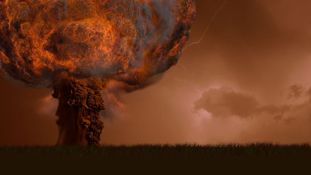 Explosion einer Nuklearwaffe - Foto: iStock / KREMLL
