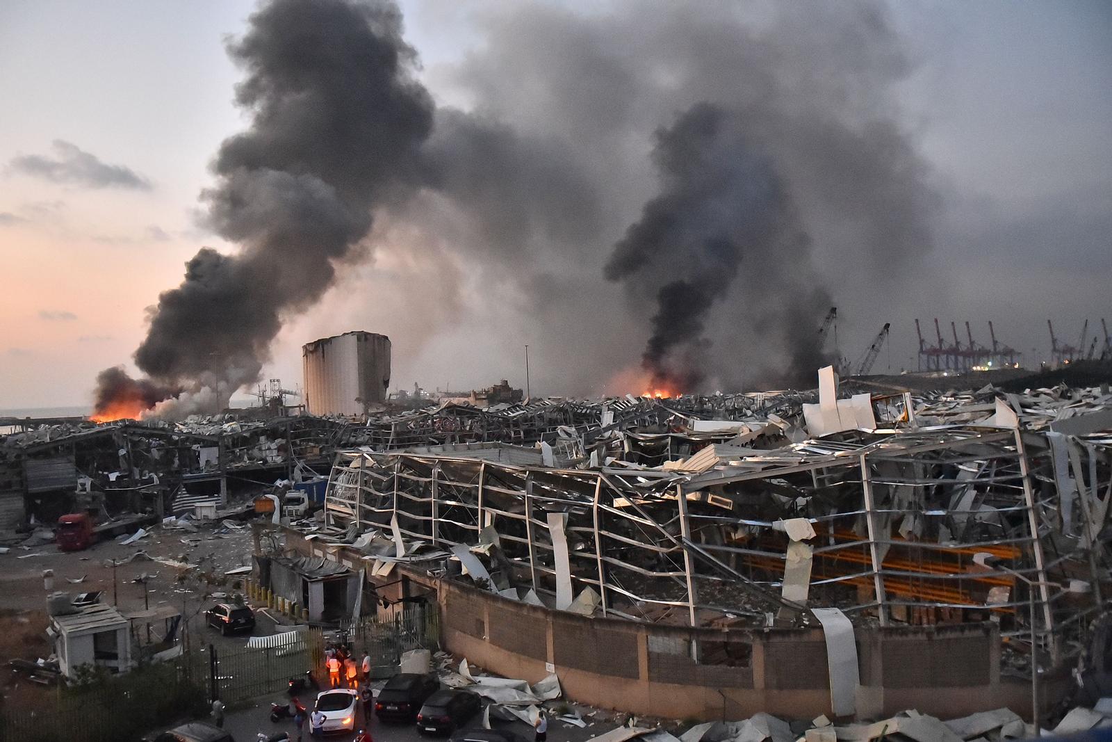 Explosionen in Beirut: Spekulationen über gezielten Luftangriff