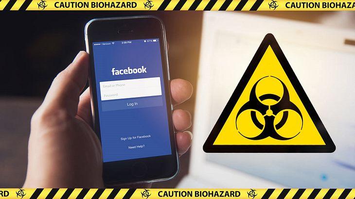 Vorsichht vor diesem gefährlichen Facebook-Virus
