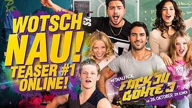 Fack Ju Göhte 3: Der #finalfack kommt in die Kinos