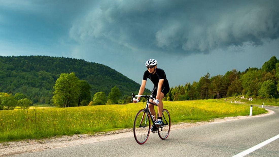 Fahrradhelm mit Visier - Fahrradhelm - Helm - Visier