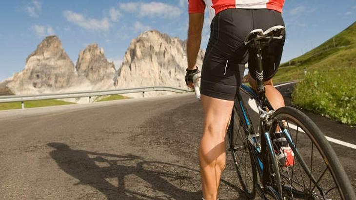 Fahrradhose Herren Straße