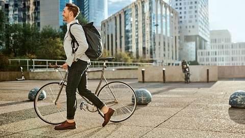 Diese Teile sind Fahrradtasche und Rucksack in einem!