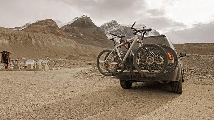 Fahrradträger für Anhängerkupplung