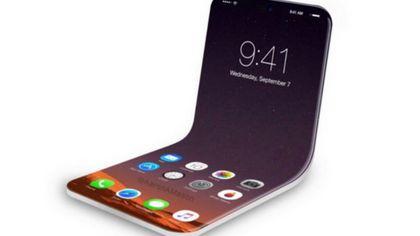Apple meldet Patent für faltbares iPhone an - Foto: Twitter / Kanal Aaron Mason