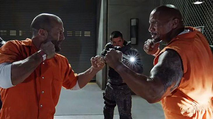 "Jason Statham und Dwayne ""The Rock"" Johnson"