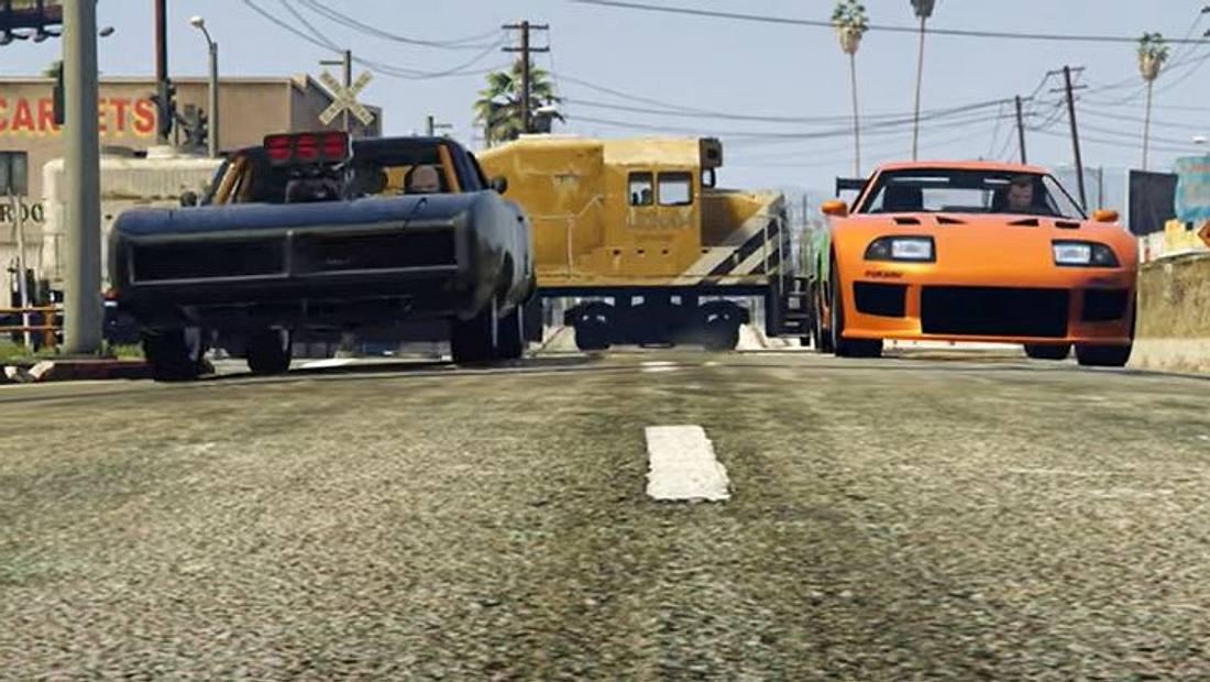 Fast & Furious in GTA online nachgedreht