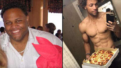 Trotz Pizza, McDonalds & Co.: Kalifornier nimmt mit bizarrer Diät 82 Kilo ab