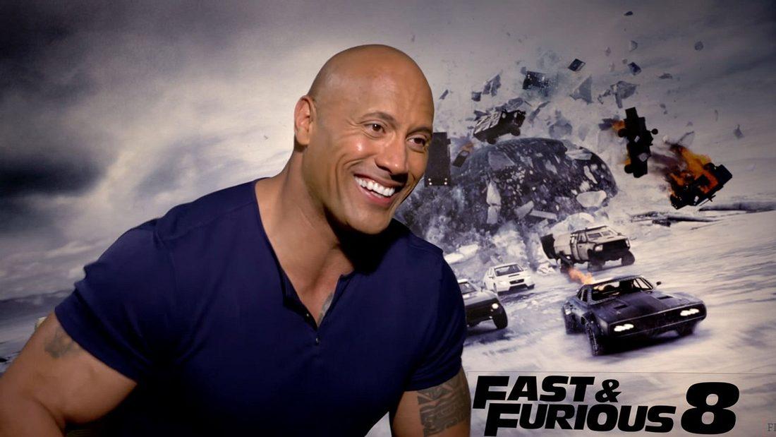 Dwayne Johnson The Rock im Interview zu Fast & Furious 8