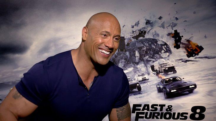 """Dwayne Johnson """"The Rock"""" im Interview zu """"Fast & Furious 8"""""""