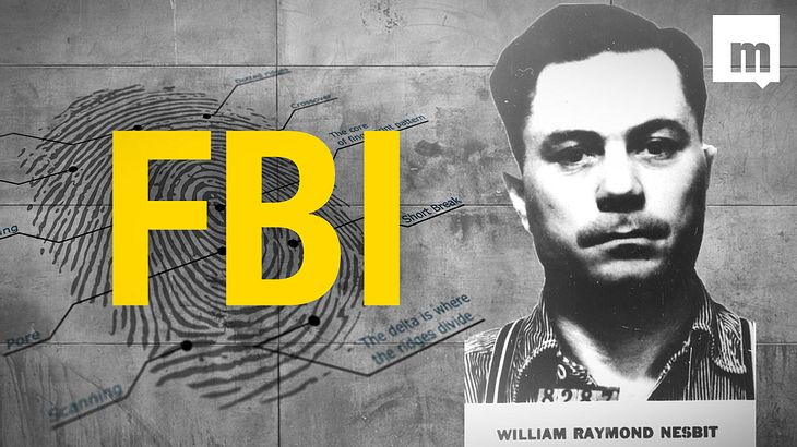 Aus seinem Höhlenversteck verhaftet: William Raymond Nesbit