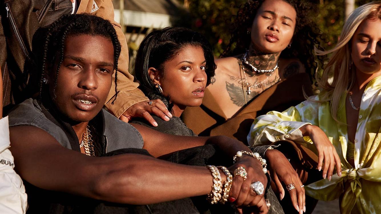 Rapper A$AP Rocky und weitere Personen